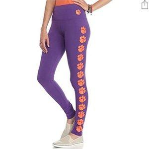 Loudmouth Women's Clemson Tigers Logo Leggings M/L